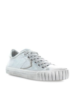 PHILIPPE MODEL GARE SILVER METAL SNEAKER
