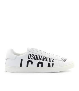 DSQUARED2 ICON WHITE BLACK SNEAKER