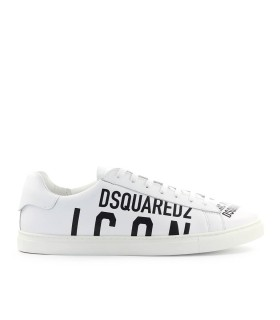 ZAPATILLA ICON BLACO NEGRO DSQUARED2