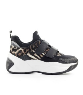 SNEAKER KEELEY TRAINER ANIMALIER MICHAEL KORS
