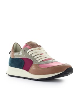 PHILIPPE MODEL MONTECARLO MONDIAL POP PINK BLUE SNEAKER
