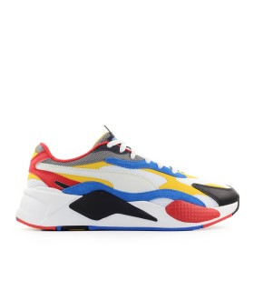 PUMA RS-X3 PUZZLE WIT GEEL SNEAKER