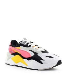 PUMA RS-X3 PUZZLE WHITE RED ORANGE SNEAKER