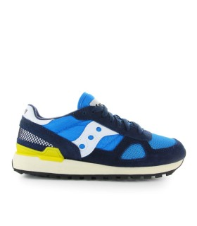 SNEAKER SHADOW VINTAGE BLU GIALLO SAUCONY ORIGINALS