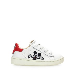 ZAPATILLA UNISEX DISNEY MICKEY WELCOME BLANCA MOA