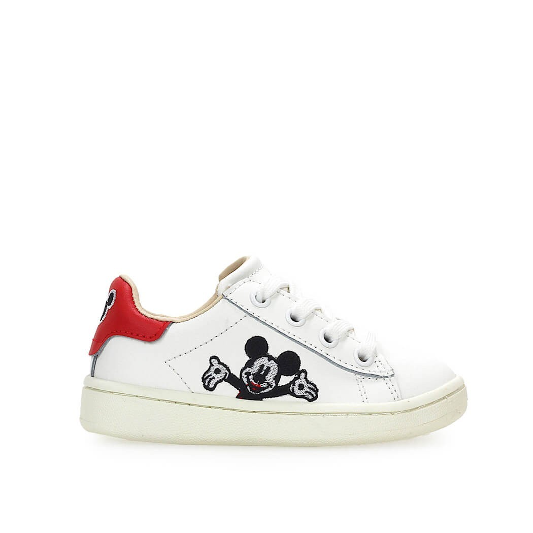 Moa Master Of Arts Moa Disney Mickey Welcome White Unisex Sneaker