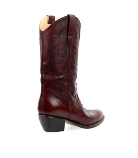 ÂME BROWN TEXAN STYLE BOOT