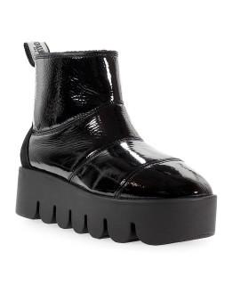 MOLLIS BLACK NAPLAK MALMON BOOTS