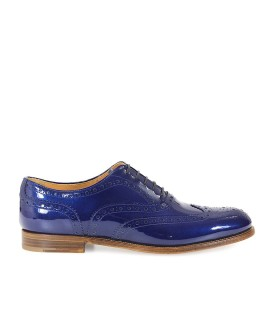 ZAPATO CORDONES BURWOOD 3 W CHAROL AZUL CHURCH'S