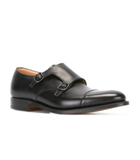 STRINGATA DETROIT MONKSTRAP BLACK CHURCH'S