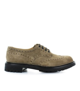 ZAPATO CON CORDONES MC PHERSON WAXED SUEDE BURNT CHURCH'S