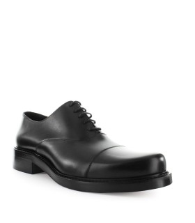 DSQUARED2 NEW ORLEANS BLACK LEATHER LACE UP