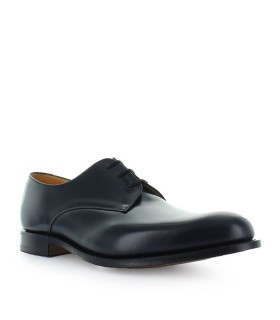 CHURCH'S OSLO POLISHBINDER NAVY LACE UP