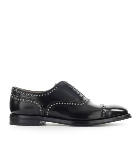 ZAPATO OXFORD ANNA MET POLISHED FUMÈ NEGRO CHURCH'S