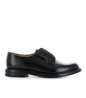 CHURCH'S BLACK ROIS CALF REBECCA 2 LACE UP
