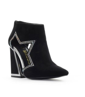 KAT MACONIE BLACK SUÈDE DUSTY ANKLE BOOT