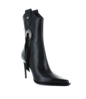 TRONCHETTO TACCO BLACK RODEO DSQUARED2