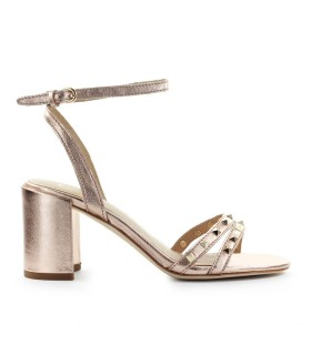 ASH JANIS COPPER HEELED SANDAL