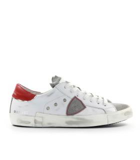 PHILIPPE MODEL PRSX WHITE RED SNEAKER
