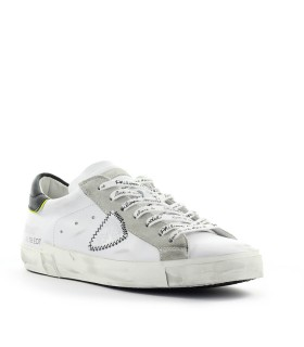 PHILIPPE MODEL PRSX BRODERIE WHITE BLACK SNEAKER