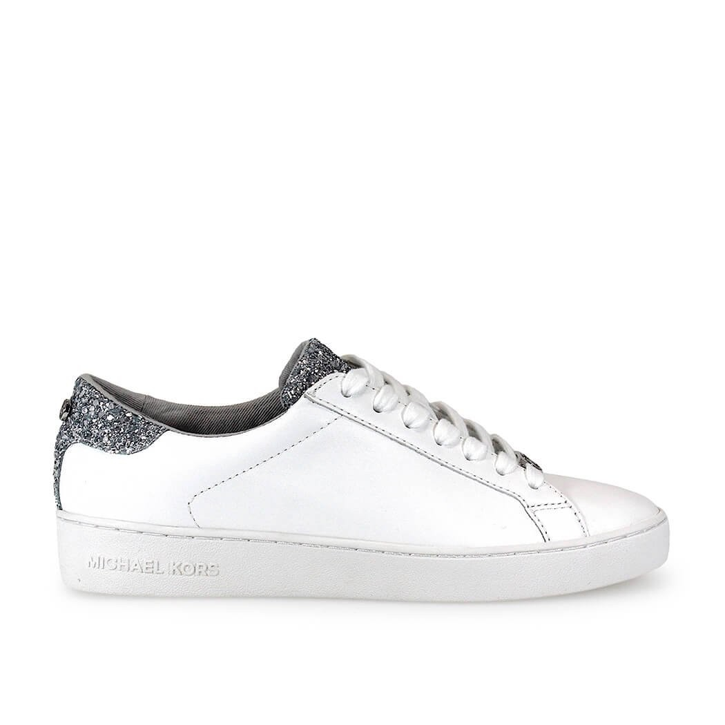 Michael Kors Irving Lace Up White