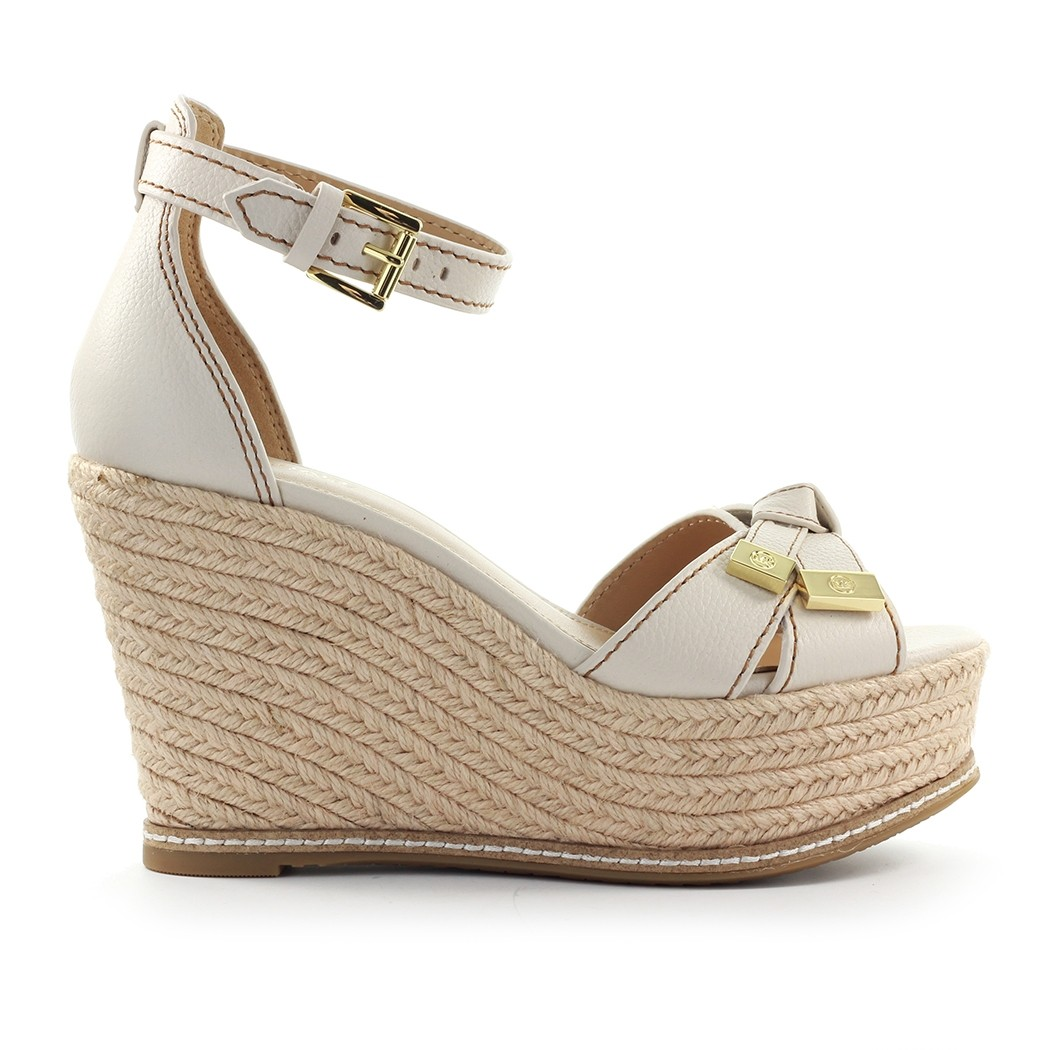 Michael Kors RIPLEY LIGHT CREAM WEDGE SANDAL