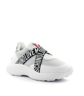 SNEAKER LOGO INCROCIO LOVE MOSCHINO