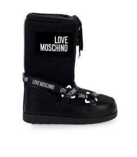 LOVE MOSCHINO BLACK SKI BOOT
