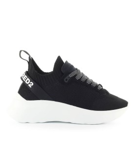 DSQUARED2 KNIT NEOPRENE SPEEDSTER SNEAKER