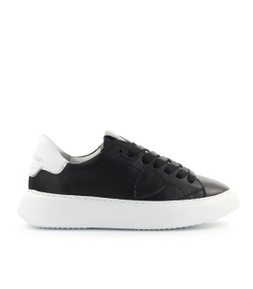 PHILIPPE MODEL TEMPLE BLACK WHITE SNEAKER