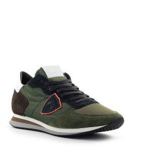 PHILIPPE MODEL TRPX MONDIAL MILITARY GREEN SNEAKER