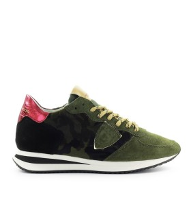 SNEAKER TRPX PONY CAMOUFLAGE VERDE MILITARE PHILIPPE MODEL
