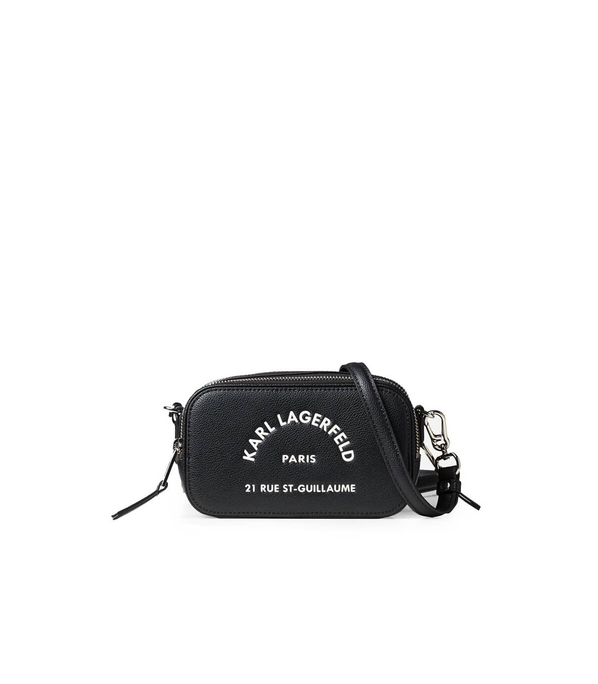 Karl Lagerfeld RUE ST GUILLAUME BLACK CROSSBODY BAG