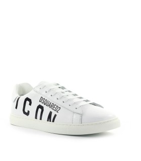 SNEAKER NEW TENNIS BIANCO ICON DSQUARED2