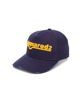 CAPPELLO DA BASEBALL NAVY OCRA DSQUARED2