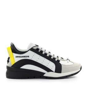 DSQUARED2 551 WEISS GELB SNEAKER