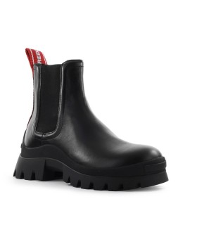 DSQUARED2 TANK TAPE BLACK CHELSEA BOOT