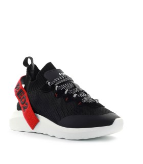 SNEAKER SPEEDSTER NERO ROSSO DSQUARED2