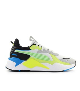 PUMA RS-X HARD DRIVE WHITE YELLOW SNEAKER