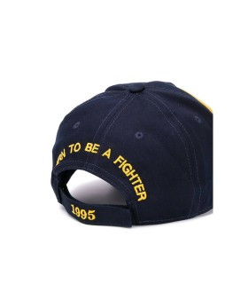 CAPPELLO DA BASEBALL NAVY PATCH DSQUARED2