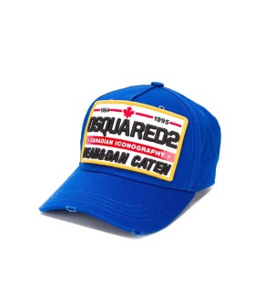 CAPPELLO DA BASEBALL BLUETTE PATCH DSQUARED2
