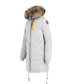 PARKA LONG BEAR BIANCO PARAJUMPERS