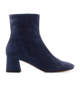 L'AUTRE CHOSE BLUE SUEDE ANKLE BOOT