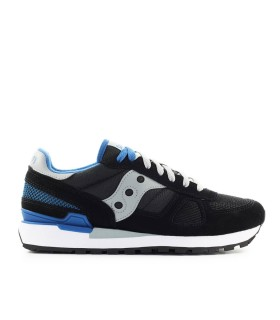 SNEAKER SHADOW ORIGINAL NERO BLU SAUCONY