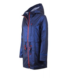 SAINT JAMES STE AMY BLUE PARKA