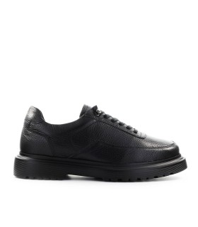 FILLING PIECES MONDO MARINO GRAIN BLACK SNEAKER