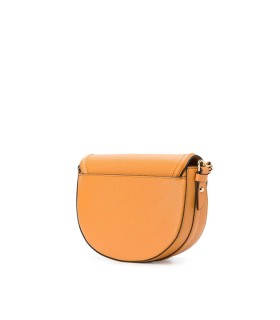 MICHAEL KORS JET SET CHARM HALF DOME ORANGE CROSSBODY BAG