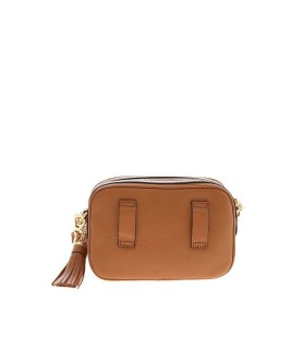 MICHAEL KORS JET SET LIGHT BROWN CROSSBODY BAG