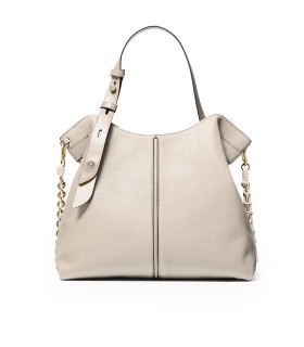 BORSA SHOPPING DOWNTOWN ASTOR BEIGE MICHAEL KORS