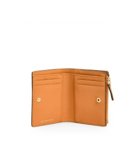 MICHAEL KORS JET SET MEDIUM ORANGE WALLET
